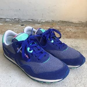 reebok shoes royal blue runners